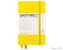 Leuchtturm1917 Notebook - A6, Lined - Lemon