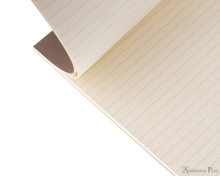 Rhodia No. 18 Premium Notepad - A4, Lined - Taupe open