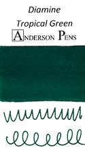 Diamine Tropical Green Ink Color Swab