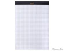 Rhodia No. 18 Staplebound Notepad - A4, Graph - Black open