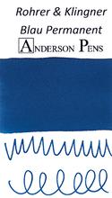 Rohrer & Klingner Blau Permanent Ink Sample (3ml Vial)
