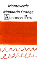 Monteverde Mandarin Orange Ink Color Swab