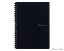 Maruman Mnemosyne N195A Notebook - A5, Lined - Black