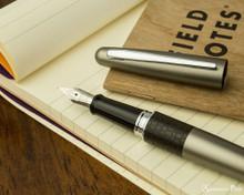 Pilot Metropolitan Fountain Pen - Lizard - Nib on Notebook