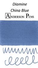 Diamine China Blue Ink Color Swab