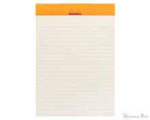 Rhodia No. 16 Premium Notepad - A5, Lined - Raspberry open
