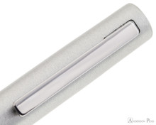 LAMY Aion Fountain Pen - Olive Silver clip detail