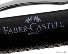 Faber-Castell Essentio Ballpoint - Black Leather - Imprint