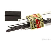 Pentel Super Hi-Polymer HB Lead - 0.5mm - 12 Pieces - Open