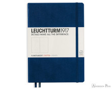 Leuchtturm1917 Notebook - A5, Dot Grid - Navy