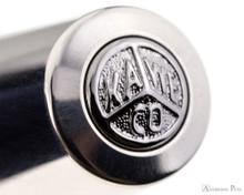 Kaweco AL Sport Fountain Pen - Raw - Cap Jewel