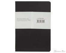 Clairefontaine Basic Staplebound Duo - 5.75 x 8.25, Lined - Black Cover