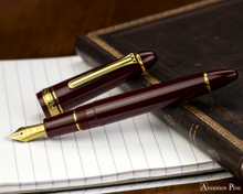 Sailor 1911 Large Fountain Pen - Maroon with Gold Trim