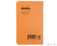 Rhodia Staplebound Notebook - 3 x 4.75, Graph - Orange back cover