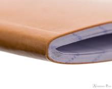 Rhodia Staplebound Notebook - 3 x 4.75, Graph - Orange outer binding