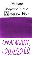 Diamine Majestic Purple Ink Color Swab