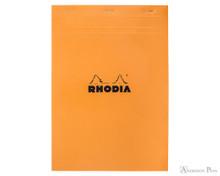 Rhodia No. 18 Staplebound Notepad - A5, Graph - Orange