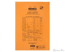 Rhodia No. 18 Staplebound Notepad - A5, Graph - Orange back cover