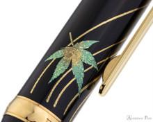 Platinum Classic Maki-e Kanazawa Leaf Fountain Pen - Autumn Leaves - Pattern 2