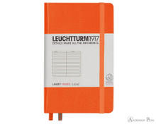 Leuchtturm1917 Notebook - A6, Lined - Orange