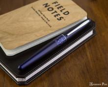 Pilot Metropolitan Fountain Pen - Leopard - On Notebook