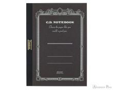 APICA Premium CD Notebook - A5, Blank - Black