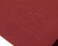 Clairefontaine My Essential Notebook - A5, Graph - Red logo detail