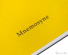 Maruman Mnemosyne N194A Notebook - B5, Lined - Black inner logo