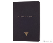 Clairefontaine Flying Spirit Notebook - A5, Lined - Black