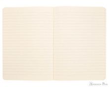 Clairefontaine Flying Spirit Clothbound Notebook - A5, Lined - Black open