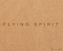 Clairefontaine Flying Spirit Notebook - A5, Lined - Tan logo detail
