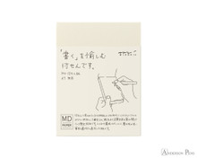 Midori MD Sticky Memo Pad A7 - Blank