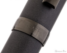 Sheaffer Prelude Matte Gunmetal-Tone Fountain Pen - Cap Band