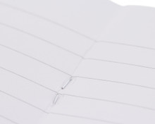 Rhodia Staplebound Notebook - A5, Lined - Ice White lines detail