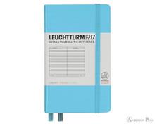 Leuchtturm1917 Notebook Pocket A6 - Ice Blue, Lined