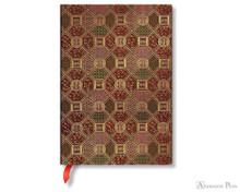 Paperblanks Midi Journal - Sacred Tibetan Textiles Mandala, Lined