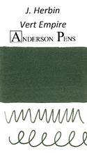 J. Herbin Vert Empire Ink Color Swab