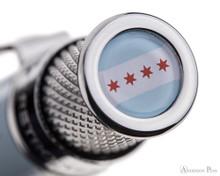 Retro 51 Tornado Rollerball - Chicago, Anderson Pens Exclusive - Cap Top