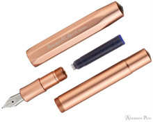 Kaweco AL Sport Fountain Pen - Rosegold - Parted Out