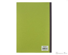 ProFolio Oasis Notebook - B5, Green - Back Cover