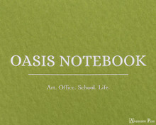 ProFolio Oasis Notebook - B5, Green - Logo 2