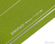 ProFolio Oasis Notebook - B5, Green - Logo