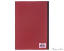ProFolio Oasis Notebook - B5, Red - Back Cover