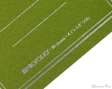 ProFolio Oasis Notebook - A6, Green - Logo