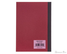 ProFolio Oasis Notebook - A6, Red - Back COver