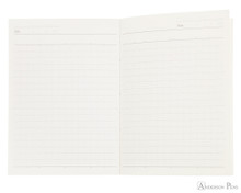 ProFolio Oasis Notebook - A6, Red - Open
