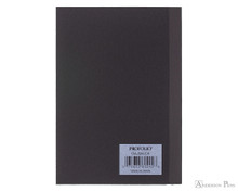 ProFolio Oasis Notebook - A6, Charcoal - Back Cover