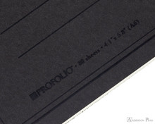 ProFolio Oasis Notebook - A6, Charcoal - Logo