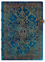 Paperblanks Midi Journal - Equinoxe Azure, Lined