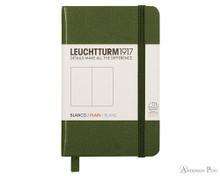Leuchtturm1917 Notebook - A7, Blank - Army
